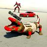 科莫多龍變形機器人射擊