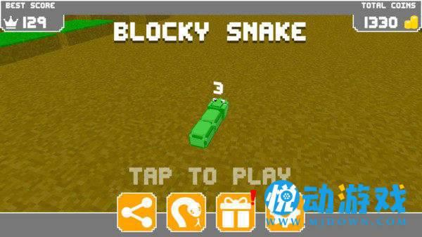 像素工艺贪吃蛇