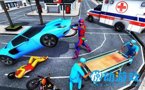 超級英雄救援任務3D