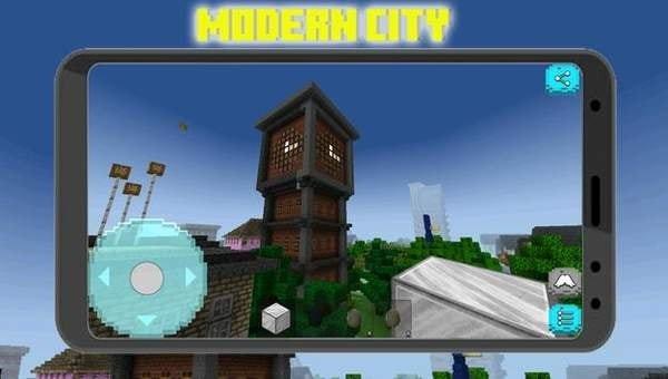 像素城市建筑工艺品