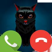 假电话恐怖猫