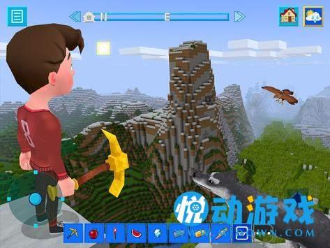 砌块建造和矿山生存工艺