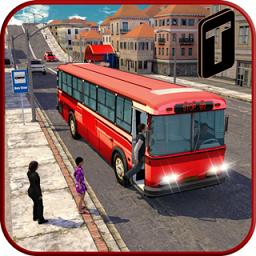 城市公交车驾驶3d